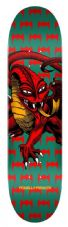 Powell Peralta Skateboard Deck One Off Cab Dragon Green 7.75 IN